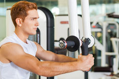 Staying in shape is very important. Stock Photo