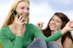 Staying in Touch Royalty Free Stock Image