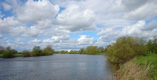 Staythorpe on the Trent Royalty Free Stock Photography