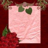 Stazionario romantico di festa illustrazione di stock