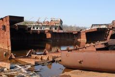 Stazione abbandonata in Chernobyl Fotografia Stock Libera da Diritti