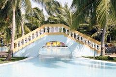 Stazione balneare caraibica Immagine Stock Libera da Diritti