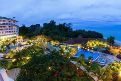 Stazione balneare di lusso nel Panama Immagine Stock