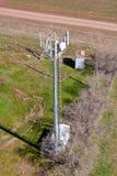 Stazione base cellulare dell'antenna Fotografie Stock Libere da Diritti