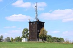 Stazione base del segnale del telefono cellulare rete di mobil immagini stock