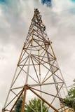 Stazione base di comunicazione Attrezzatura complessa del ricetrasmettitore del sistema Fotografia Stock