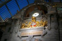 Stazione centrale di Antwerpen Immagini Stock