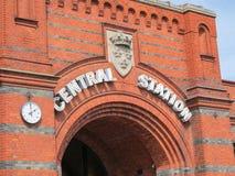 Stazione centrale di Malmo fotografie stock libere da diritti