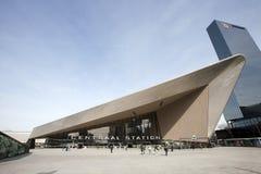 Stazione centrale di Rotterdam Fotografia Stock