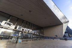 Stazione centrale di Rotterdan immagine stock