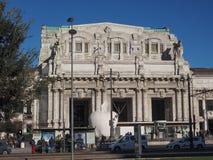 Stazione Centrale em Milão Foto de Stock