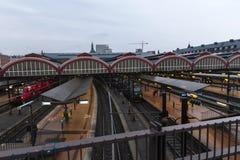 stazione centrale h del copenahagen Immagini Stock