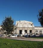 Stazione Centrale i Milan Royaltyfria Foton