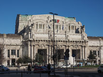 Stazione Centrale in Milaan Royalty-vrije Stock Foto