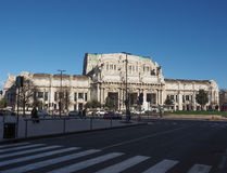 Stazione Centrale in Milan Royalty Free Stock Image