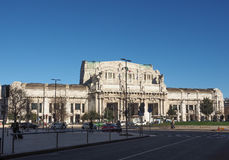 Stazione Centrale in Milan Royalty Free Stock Photography