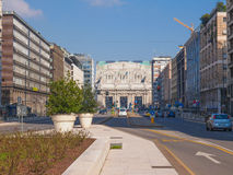 Stazione Centrale Milan Royalty Free Stock Photography