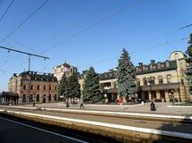 Stazione Debaltsevo Fotografie Stock