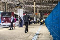 Stazione degli autobus Immagine Stock Libera da Diritti