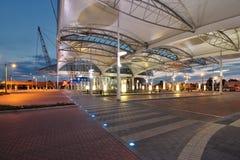 Stazione degli autobus pubblica Immagini Stock Libere da Diritti