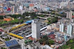 Stazione degli autobus a Sao Paulo, Brasile Immagine Stock