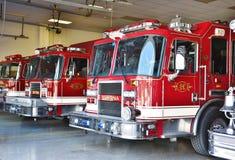 Stazione dei pompieri degli S.U.A. dello stato di Smyrna Delaware immagine stock