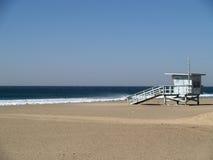 Stazione del bagnino sulla spiaggia Fotografia Stock Libera da Diritti