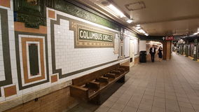 Stazione del cerchio di Columbus fotografie stock libere da diritti