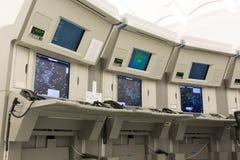Stazione del controllo del traffico aereo Fotografia Stock Libera da Diritti