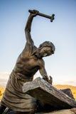 Stazione del punto di riferimento trasversale Colorado fotografia stock libera da diritti