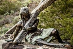 Stazione del punto di riferimento trasversale Colorado fotografie stock libere da diritti