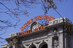 Stazione del sindacato Fotografia Stock