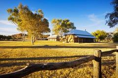 Stazione del telegrafo del Alice Springs Immagini Stock Libere da Diritti