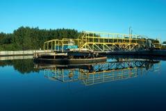 Stazione dell'acqua Fotografie Stock Libere da Diritti