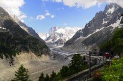 Stazione dell'alta montagna Immagini Stock