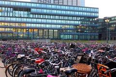 Stazione della bicicletta Fotografia Stock