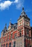 Stazione della centrale di Amsterdam Fotografie Stock Libere da Diritti