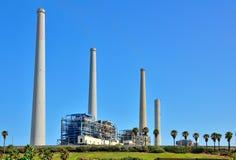 Stazione della centrale elettrica in Israele Immagine Stock
