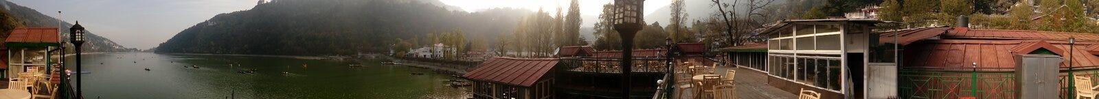 Stazione della collina Fotografie Stock
