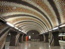 Stazione della metropolitana Immagine Stock