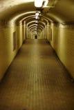 Tubo della stazione della metropolitana Fotografia Stock