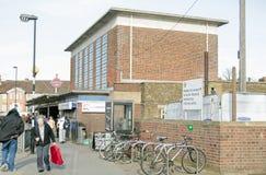Stazione della metropolitana della città di Acton Fotografia Stock