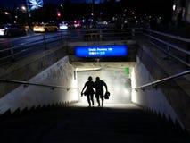 Stazione della metropolitana di Budapest Immagine Stock Libera da Diritti