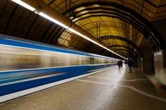 Stazione della metropolitana di Monaco di Baviera Fotografia Stock Libera da Diritti
