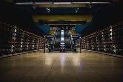 Stazione della metropolitana di Monaco di Baviera Fotografia Stock