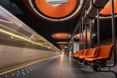 Stazione della metropolitana di Pannenhuis Fotografie Stock Libere da Diritti