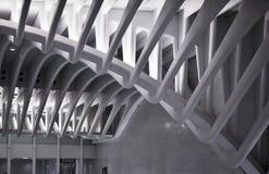 Stazione della metropolitana di WTC in NYC Immagine Stock Libera da Diritti