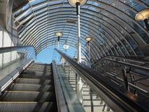 Stazione della metropolitana a Glasgow immagini stock