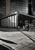 Stazione della metropolitana in sotterraneo del bahnhof del platz di Potsdamer Fotografia Stock