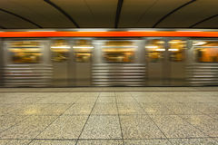 Stazione della metropolitana, sottopassaggio a Atene - Grecia Fotografia Stock Libera da Diritti